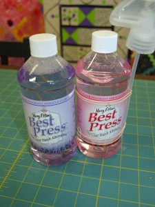 Mary Ellen's Best Press Spray Starch $16.95 per bottle, refills available.