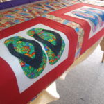 Current quilting for RMD House