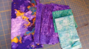 Storm FQ and stash matching  fabrics